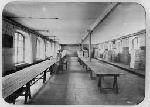 Vue de la salle de comptage, de tri et de stockage du papier de la Papeterie des Charbonniers (Thiers, Puy-de-Dôme, France)