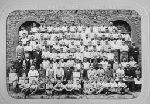 groupe d'ouvriers et employés de la papeterie des Charbonniers (Thiers, Puy-de-Dôme, France)