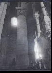 Vue de l'intérieur de l'abbatiale Saint-Pierre d'Airvault (n° d'inv. 1998.1.370)